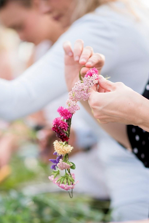 DIY Flower Crown Party