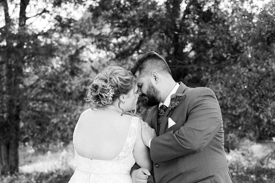 Fall wedding portraits in Leesburg at 48 Fields Wedding
