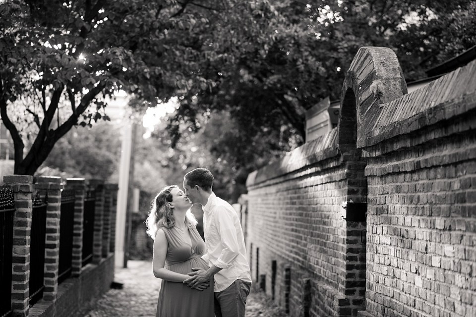 Wales Ally Maternity Session in Old Town Alexandria by Alexandria Maternity Photographer, Erin Tetterton Photography