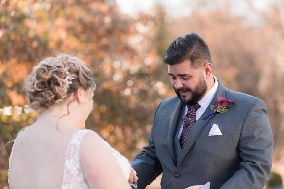 First Look at Leesburg barn wedding