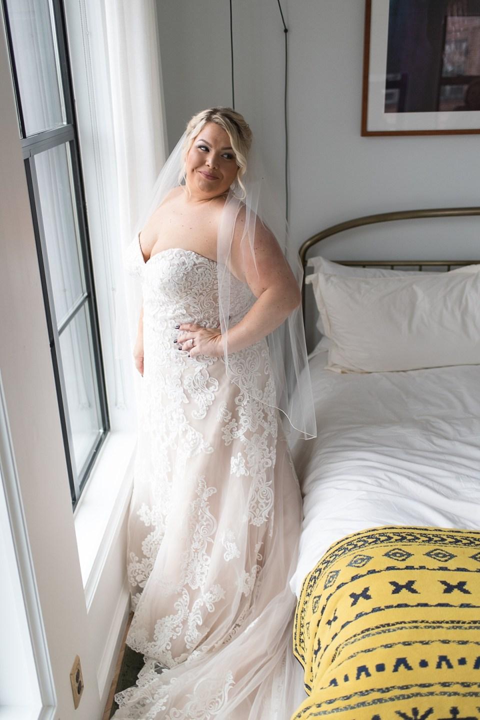 The Line Hotel DC Wedding in Adams Morgan