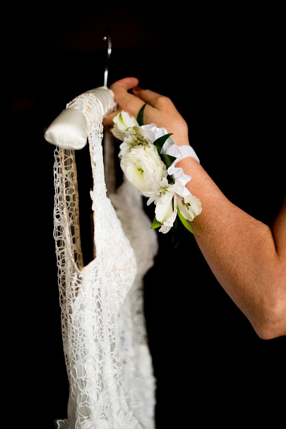 Bride Getting Ready in Bridal Suite, Falls Church, VA