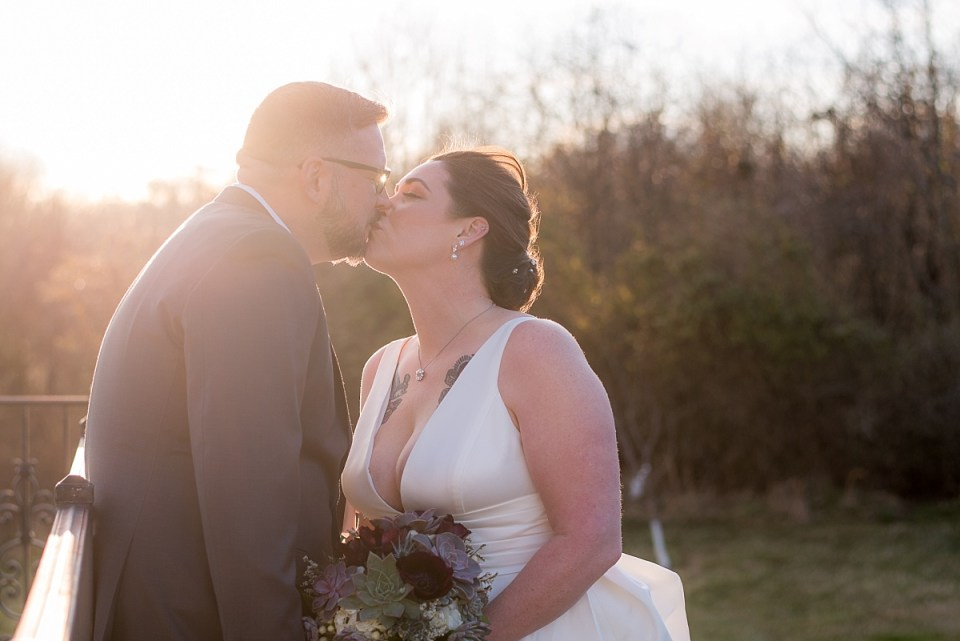 Golden Hour Wedding Portraits at Middleburg Wedding Venue