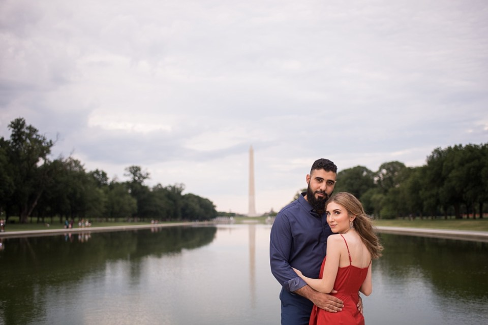 Engagement Session on the National Mall in Washington DC by Erin Tetterton Photography