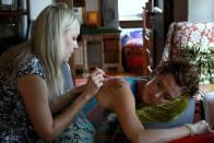 sally doing henna