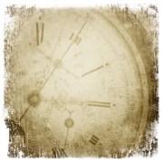 Antique Pocket Watch Face