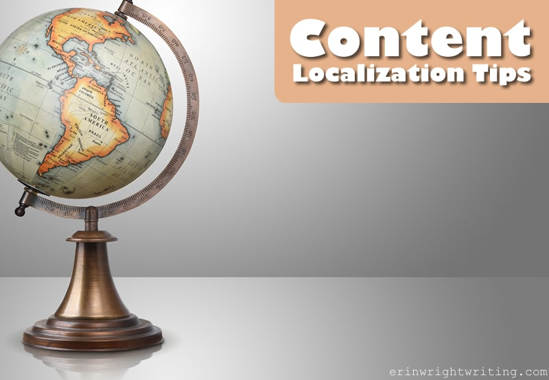 Content Localization Tips | Image of Globe on Bronze Base