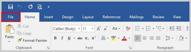 Word 2016 File Tab | How to Use Microsoft Word 2016's Spelling and Grammar Check
