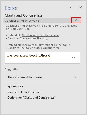 Word 2016 Grammar Check Explanation Drop-Down Menu | How to Use Microsoft Word 2016's Spelling and Grammar Check