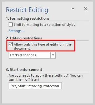 Microsoft Word 2016 Restrict Editing Task Pane | How to Restrict Editing in Microsoft Word