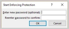Microsoft Word Start Enforcing Protect Password Dialog Box | How to Restrict Style Changes in Microsoft Word