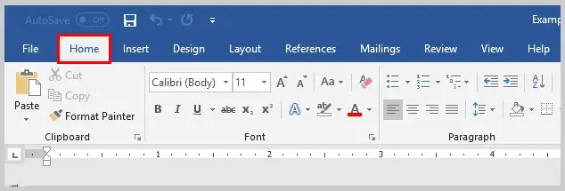 Image of Microsoft Word Home Tab | How to View Specific Reviewers' Comments and Edits in Microsoft Word