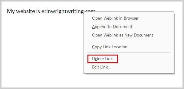 Image of Adobe Acrobat Delete Link Option   How to Create External Links in PDFs with Adobe Acrobat