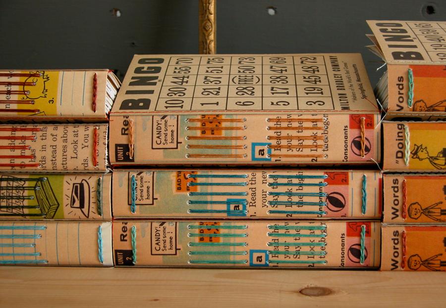 Erinzam News Blog Archive Bingo Books Part 4 Binding