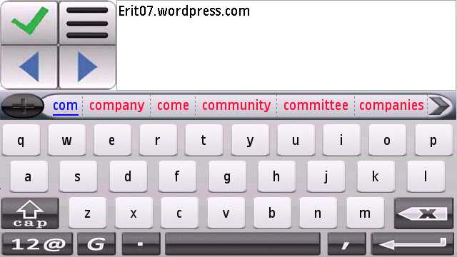android keyboard by erit07
