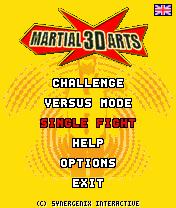 menu martial 3d arts by erit07