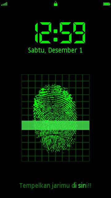 Deteksi FingerPrint s60v5 by Erit Kantoni