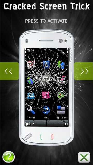 layar pecah Cracked Screen Trick by erit07