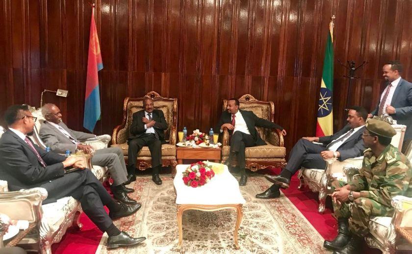 Ethiopian and Eritreans open talks