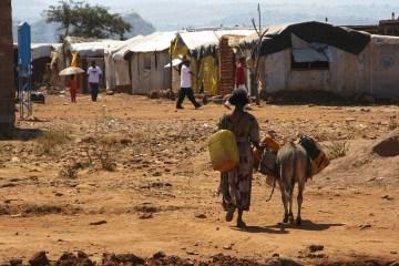 Adi Harush refugee camp Ethiopia