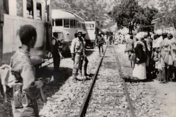 Eritrea ELF capture train