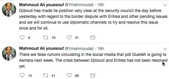 Djibouti tweet