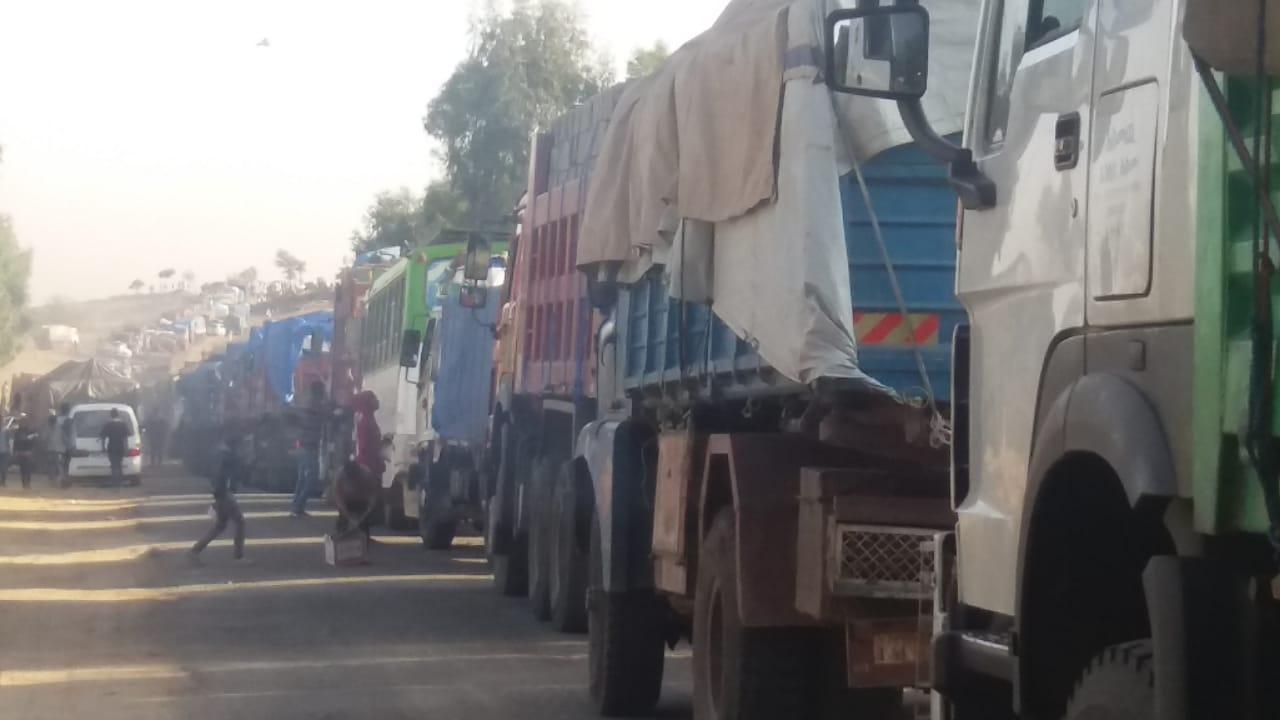 Zalambessa traffic jam 1