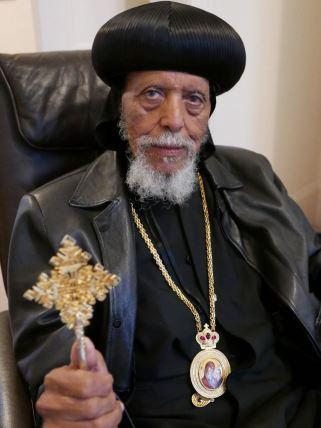 Abune Makarios, Bishop of Eritrean Orthodox Church, visits London November 2018