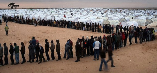 Foreign Workers And Refugees Flee As Violence Continues In Libya