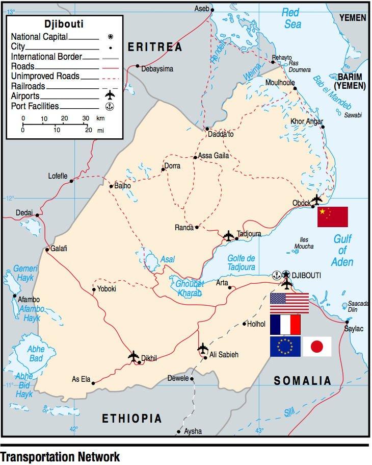 Military Bases Djibouti