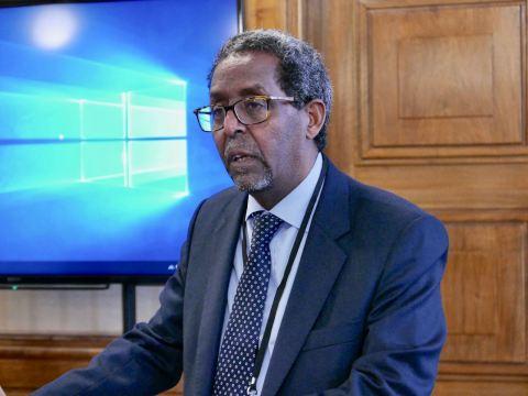 Habte Hagos Eritrea Conference ICS