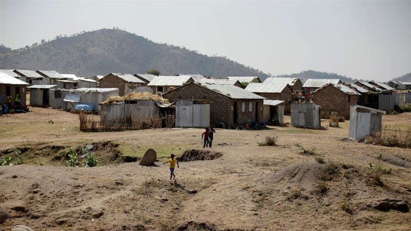 Hitsats refugee camp