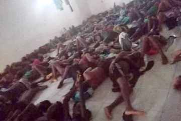African migrants held in detention centres in Saudi Arabia