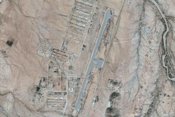 Sawa military camp from satellite
