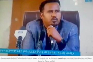 Atakliti Haileslassie Mayor of Mekelle