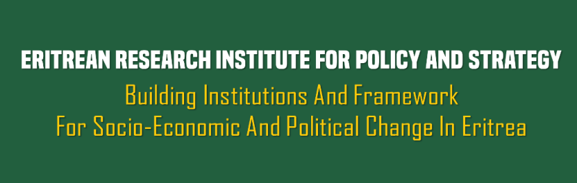 Eritrean Research Institute for Policy and Strategy