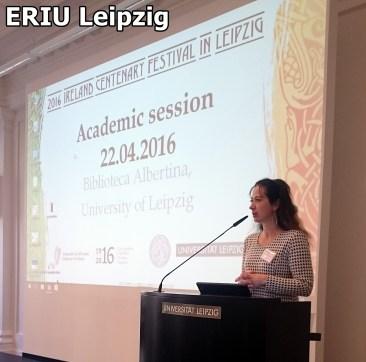 Eröffnung der Academic Session u.a. von Dr. hab. hab. Sabine Asmus # Opening of Academic Session amongst others by Dr. hab. hab. Sabine Asmus