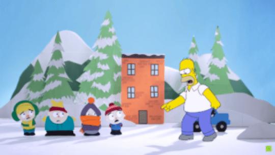 ¿South Park en Springfield?