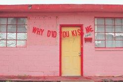 ¿Por qué me besaste?