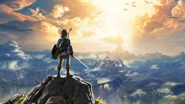 The Legend of Zelda Breath of the Wild arte