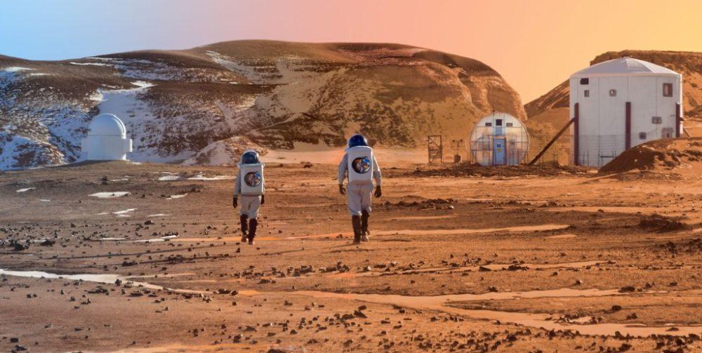 Misión a Marte en el desierto de Utah, Estados Unidos