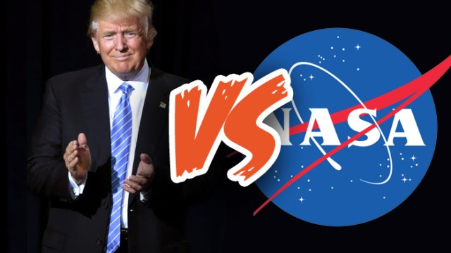 Donald Trump vs NASA