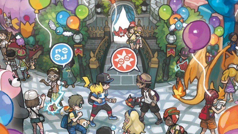 Festi Plaza en Pokémon Sol y Luna