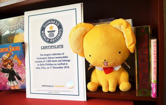 El récord Guinness a la mayor colección de objetos de Cardcaptor Sakura