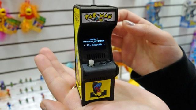 Mini arcade de Pac-Man de Super Impulse