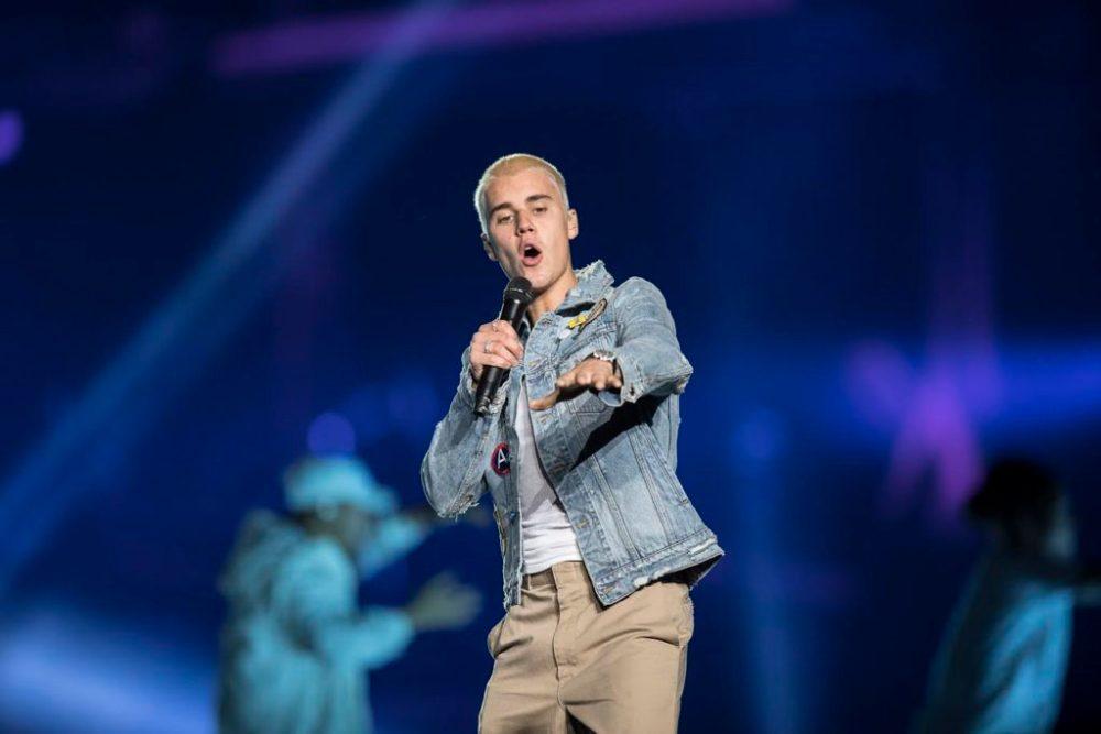 Justin Bieber en el Foro Sol