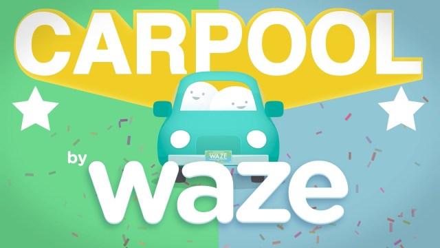 Waze Carpool la nueva app de rides