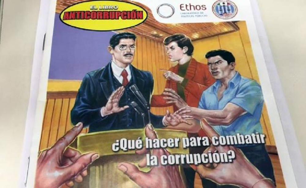 Libro Vaquero ahora combate la corrupción