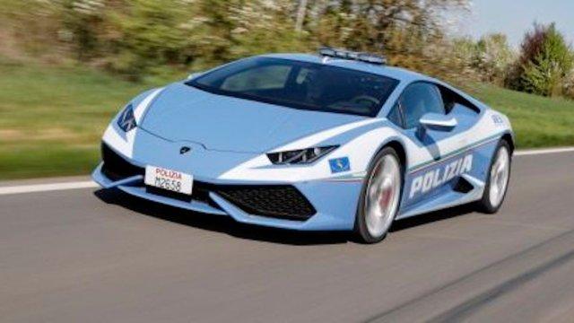 Conoce el espectacular Lamborghini que usara la policía de Italia