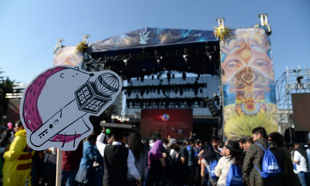 Así se puso el primer día del Vive Latino